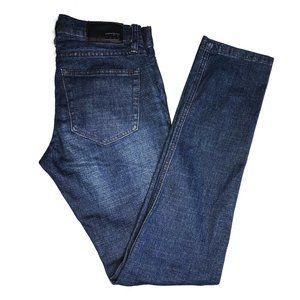 XXX RUDE Hot Topic Men's Blue Skinny Jeans - 28x32